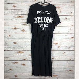 Zara short sleeve T-shirt dress (binC1)